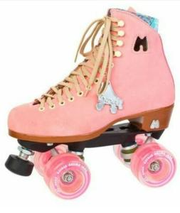 """BRAND NEW MOXI """"Lolly"""" Pink Roller skates. Size 9"""