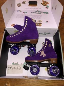 Brand New Moxi Roller Skates Taffy Purple Lolly Roller Size
