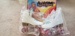 Brand New - Impala Quad Roller Skates- White - Women's Size