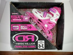 Brand New RD Roller Derby Harmony Adjustable Inline Skates G