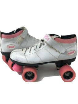Chicago Bullet Ladies Speed Skate, Size 2, White