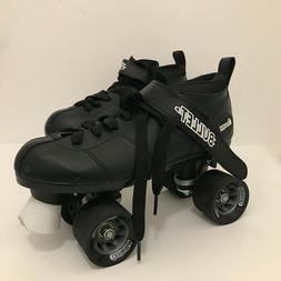 Chicago Bullet Men's Speed Roller Skates, Size 7 Black EUC