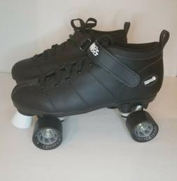 Chicago Bullet Quad Speed Black Roller Skates Men's Size 12