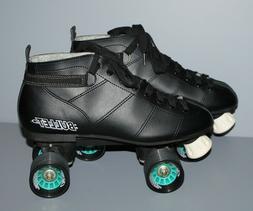 Chicago Bullet Quad Speed Black Roller Skates Men's Size 11