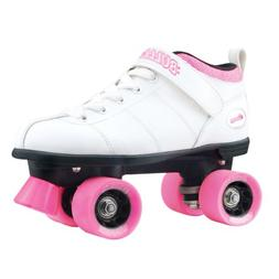 Chicago Bullet Ladies Speed Roller Skate –White Size 2
