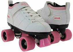 Chicago Bullet Ladies Speed Roller Skate –White Size 2