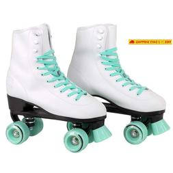 C7 Classic Roller Skates | Retro Soft Boot With Faux Leather
