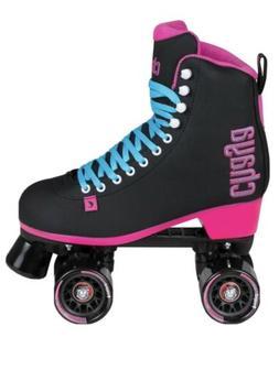 Chaya Melrose Black & Pink Indoor/Outdoor Roller Skates. Wom
