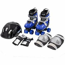 Chicago Boys Quad Roller Skate Combo - Includes Adjustable S