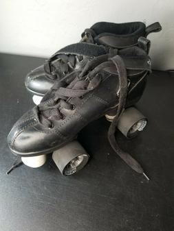 Chicago Bullet Speed Roller Derby Skates Low Top Size 8 Blac