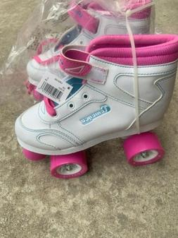 Chicago Girls Sidewalk Roller Skate - White Youth Quad Skate