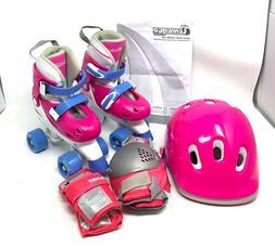 Chicago Kids Adjustable Quad Roller Skates - Pink - Brand Ne