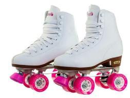 Chicago Women's Classic Roller Skates - Premium White Quad R