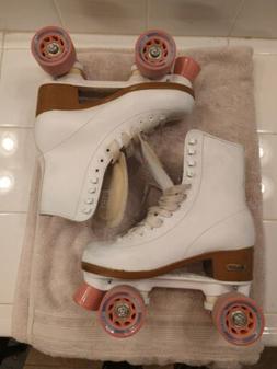 Chicago Women's Classic Roller Skates - White Quad Rink Sk