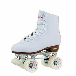 Chicago Women's Leather Lined Rink Roller Skate Size 8, Whit