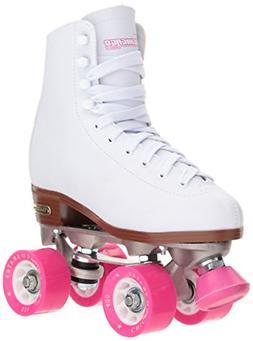 Chicago Women's Classic Roller Skates – White Rink Quad