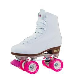 Chicago Women's Classic Roller Skates – White Rink Skate