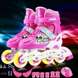 Children's Adjustable Inline Skates Children's Roller Skates