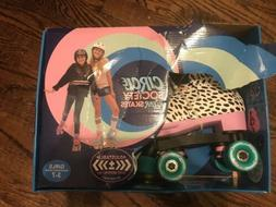 Circle Society Classic Adjustable Girls Roller Skates 3-7 Wh