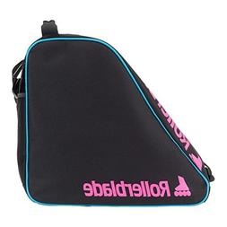 Rollerblade Classic Inline Skate Bag, Black and Pink