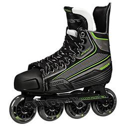 Tour Hockey Code 9 SR Inline Hockey Skate, Black/White/Red,