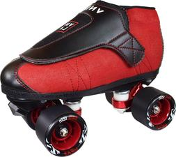 VNLA Code Reds Roller Skates w Toe Stops Vanilla Junior Boot