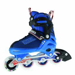 Crazy™ 168 Boys Girls 4 Sizes Adjustable Inline Roller Ska