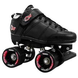 Crazy VXi Roller Skates - Black - NEW Kids & Mens Speed Roll