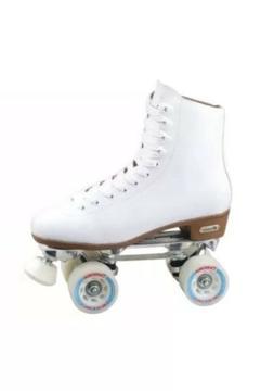 Chicago Skates CRS800-08 Ladies Leather Rink Skate Size 8 -