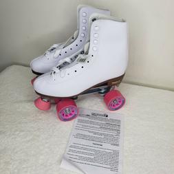 Chicago CSR400 Women's Classic Quad Rink Roller Skates - Whi