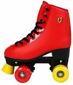 Ferrari Dakott Classic Roller Skates, Red, Size 36