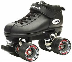 Riedell Dart Vader Quad Roller Derby Speed Skate w/ 2 Pair o