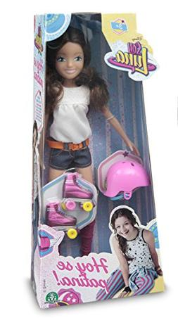 Soy Luna Disney Doll with Skates and Helmet