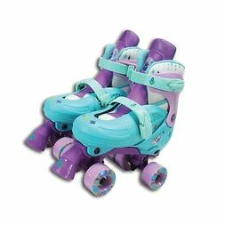 PlayWheels Disney Frozen Classic Quad Roller Skates, Junior