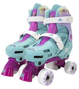 PlayWheels Disney Frozen Kids Classic Quad Roller Skates - S