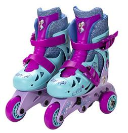 PlayWheels Disney Frozen Convertible 2-in-1 Kids Skates, Siz