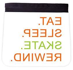 eat sleep skate rewind orange and green
