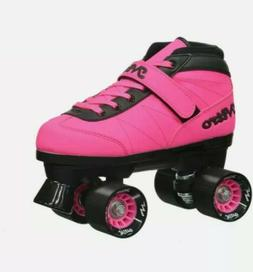 Epic Nitro Turbo Pink Quad Speed Roller Skates Size 4