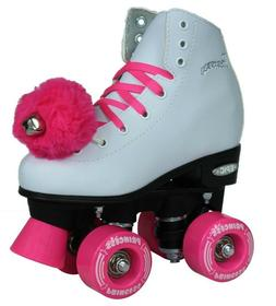 Epic Pink Princess Elite Girls Indoor / Outdoor Quad Roller