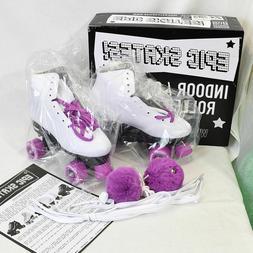 Epic Pink Princess Girls Indoor Outdoor Quad Roller Skates w