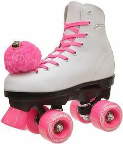 Epic Pink Princess Girls Indoor / Outdoor Quad Roller Skates