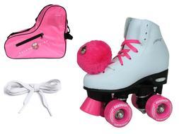 epic princess pink indoor outdoor quad roller