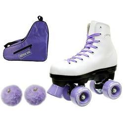 epic purple princess quad roller skates 3