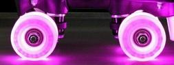 Epic Twilight LED Super Bright Light Up Roller Skate Wheels