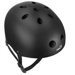 JBM EPS foam Skateboard Helmet Black Large Skate Skateboardi