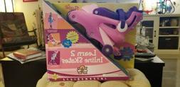 Fisher Price Barbie Learn 2 Inline Skates Girls Roller Skate