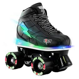 Crazy Skates Flash Roller Skates for Boys | Light Up Skates