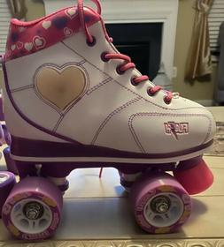 Flash Roller Skates w/ LED Hearts and Boots by Crazy Skates