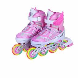 Flashing Roller Skate Shoes For Children Daily Street Unisex