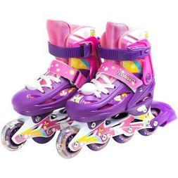 Titan TITAN Flower Princess Girls Inline Skates with Light-u